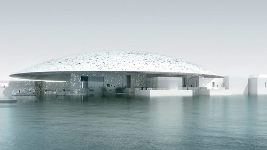 The Abu Dhabi Louvre.