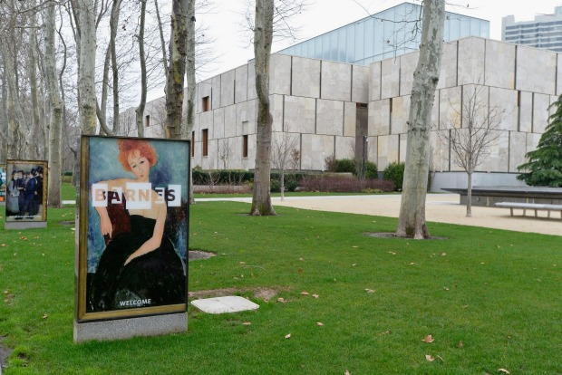 The Barnes Foundation on the Ben Franklin Parkway in Philadelphia, Pennsylvania.