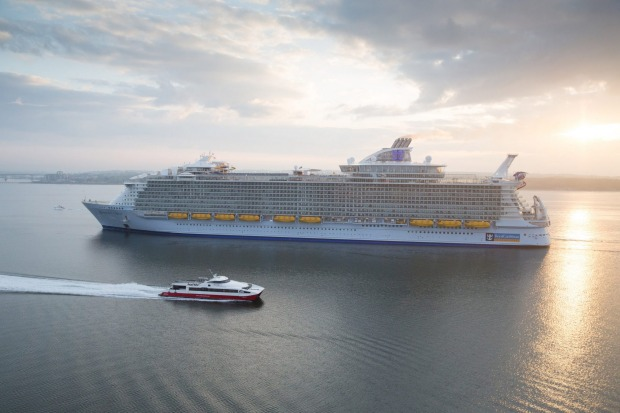 Symphony of the Seas, Royal Caribbean's newest Oasis-class ship, will have all the key features of sister ship Harmony ...