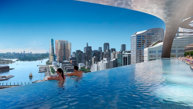 The W Sydney will have a pool with a view.