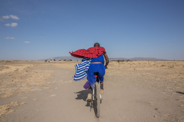 Cycling Mkuru Safari Camp and Maasai Mto Wa Mbu, Tanzania .