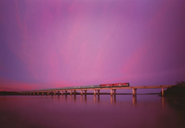 Journey into the heart of Australia: The Ghan.