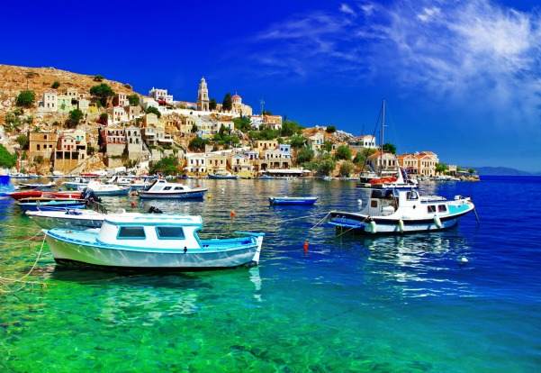 RHODES, GREECE. Rhodes sits north-west of Crete close to the Turkish coast. It has an international airport and ferry ...