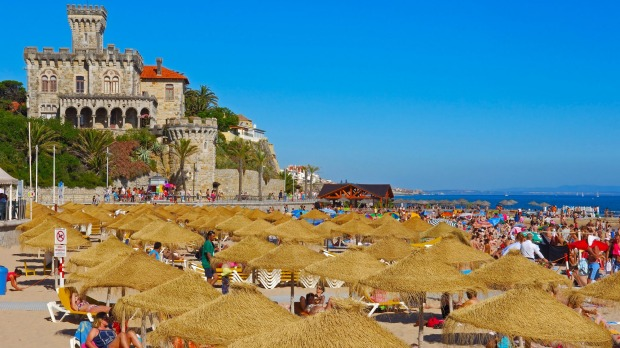 Estoril, Forte da Cruz, Tamariz beach, Lisbon.