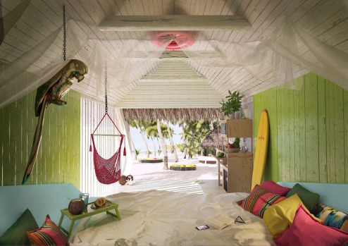 beach shack: Joe&Joe youth hostel by AccorHotels.