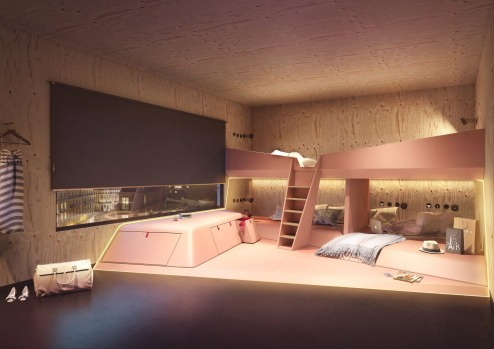 Room for six: Joe&Joe youth hostel by AccorHotels.
