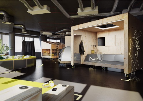 Together Show Room: Joe&Joe youth hostel by AccorHotels.