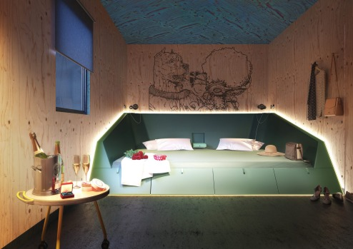 Twin or double room: Joe&Joe youth hostel by AccorHotels.