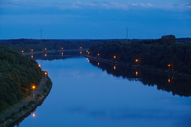 KIEL CANAL, GERMANY. The North Sea-Baltic Canal, as the Kiel Canal is officially called, opened in 1895 and links the ...