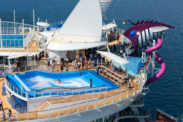 PHOTOS: On board Harmony of the Seas, the world's biggest cruise ship.