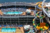 Harmony of the Seas: The latest mega-ship from Royal Caribbean also floated out in May and impresses with 18 decks, ...