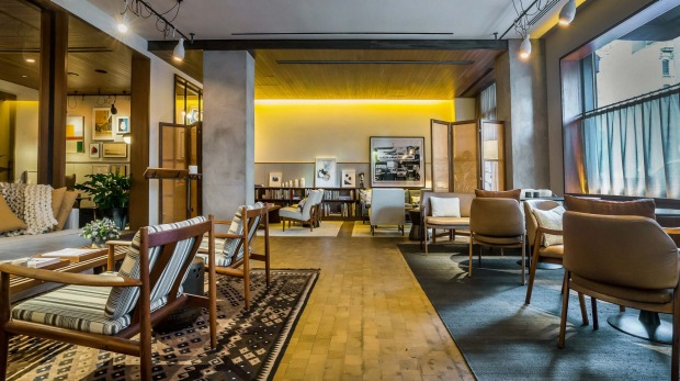 Downtown New York is on the doorstep of the warm and welcoming Smyth hotel.