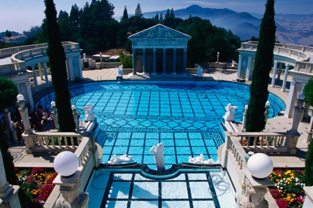 THE PLACE: Hearst Castle, US. When you're a passionate collector of art works, curios and entire antique ceilings, and ...