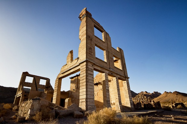 THE PLACE: Rhyolite, US. It doesn't get much eerier than walking through the ruins of Rhyolite, a mining town in Nye ...
