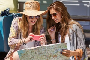 Smart phones: You can't find them at travel equipment stores.