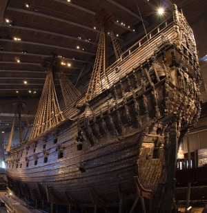 The giant Vasa is the only surviving ship of its era.