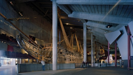 The Vasa Museum was built specifically to house the ship.