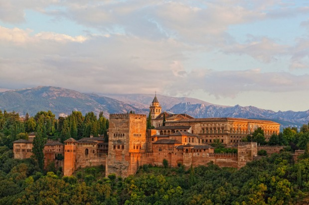 7 ALHAMBRA, GRANADA, SPAIN. The Alhambra evokes the romance of Spain's great Islamic era in its latticework, tranquil ...
