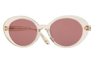 Enjoy the vintage hues of Oliver Peoples' The Row Parquet style.