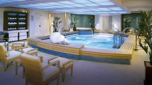 Queen Mary 2 spa.