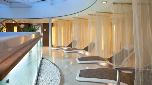 The Seabourn Odyssey Spa.