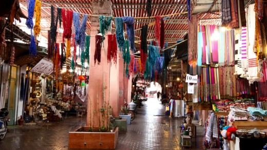 Enter the souks at your peril.