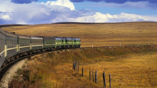 The epic, 9289 kilometre-long Trans-Siberian railway is now 100 years old.
