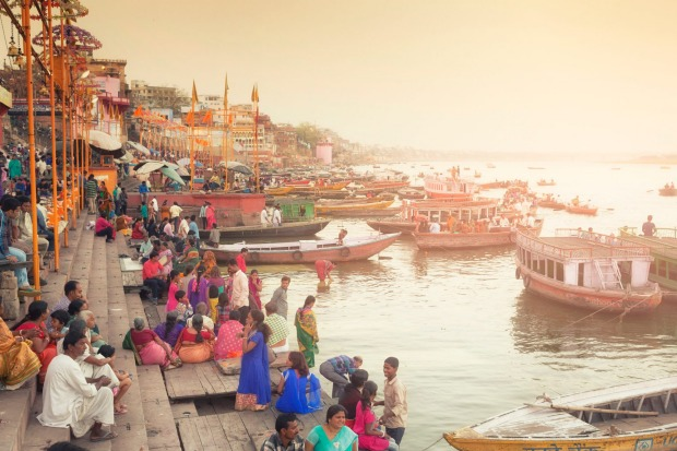 VARANASI, NORTHERN INDIA  WHAT IS IT City dating to the eleventh century BC, regarded as India's spiritual ...