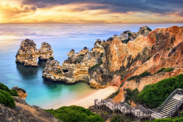 "WESTERN ALGARVE, PORTUGAL  WHAT IS IT Portugal's southernmost, least developed region.  FEEL-GOOD MOMENT ""Popping up"" ..."