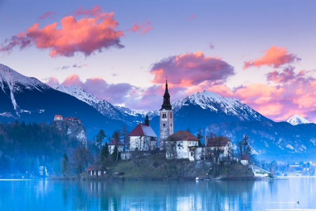LAKE BLED, SLOVENIA, CENTRAL EUROPE  WHAT IS IT Glacial lake with an iconic island.  FEEL-GOOD MOMENT Promenading around ...