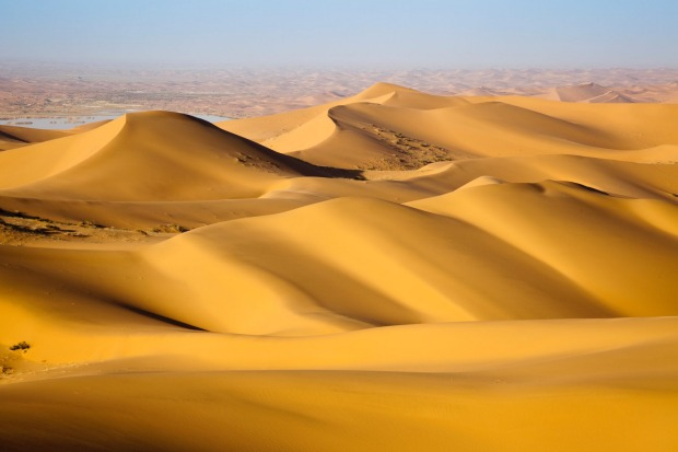 GOBI DESERT, MONGOLIA  WHAT IS IT Desert in southern Mongolia, a country jammed between Russia and China.  FEEL-GOOD ...