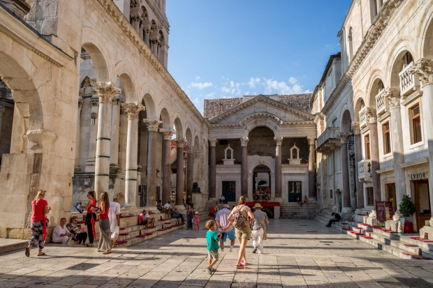 Diocletian's Palace, Split, Croatia: Roman ruins hardly get more impressive – although anyone going expecting to see an ...