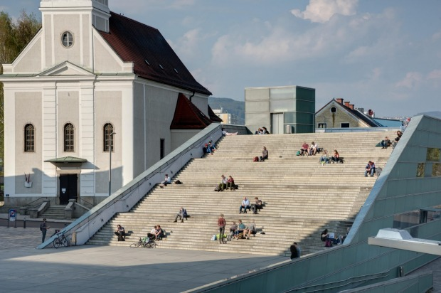 The Ars Electronica Center, Linz, Austria: Technology meets art meets social discourse at the Ars Electronia Center. It ...