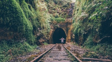 This is a shot of a Journey into an Abandoned Tunnel on a trip across Southern NSW. It was so memorable because the ...