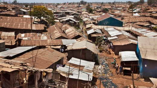 Kibera is the biggest slum in Africa and one of the largest in the world. It houses about one million people on the ...