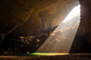 Hang Son Doong river caves in Quang Binh province, Vietnam.