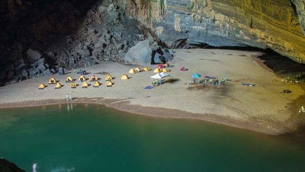 The incredible Asian beach that's deep underground