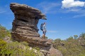 The rocks put on a free sculpture show on the Grampians Peaks Trail.