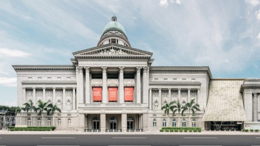A grand design: The National Gallery Singapore.