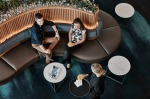 Explore Qantas' new international lounge at Brisbane Airport.