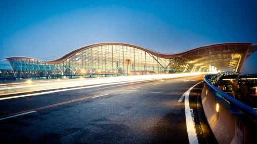 Shanghai's Pudong airport.