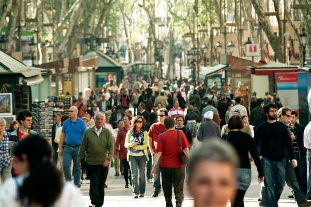 "10. La Rambla, Barcelona. Sally Davies, our Barcelona expert, writes: ""The city's most famous street is a mile-long ..."