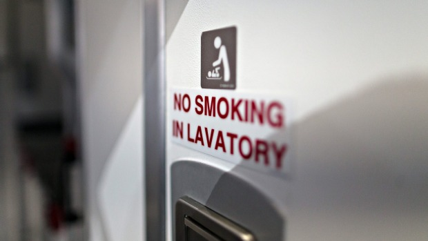 Smoking has been banned on flights for decades, but air quality has actually dropped.