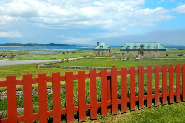 The Fortress of Louisbourg National Historic Site on Cape Breton Island, Nova Scotia, offered many scenic views, ...