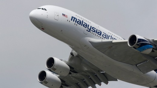 Malaysia Airlines is considering selling its A380s, saying the aircraft is too large for its needs.