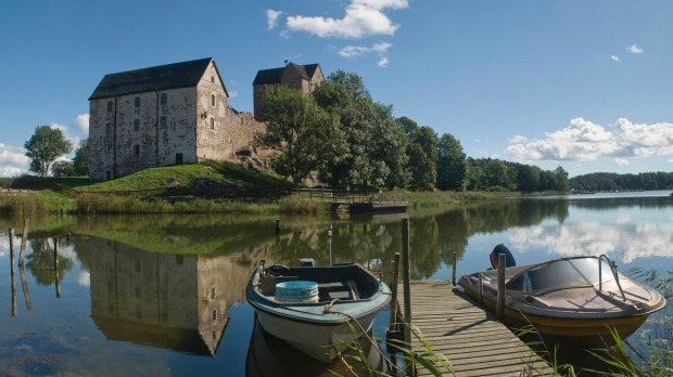 Castelholm castle in Aland islands, Finland.