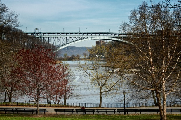 Inwood Hill Park at the northern most tip of Manhattan, New York.