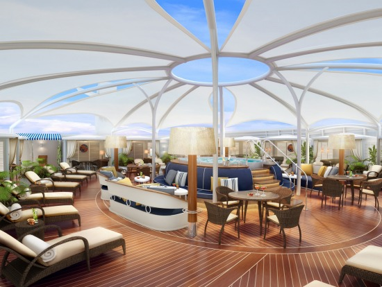 The Retreat on Seabourn Encore.