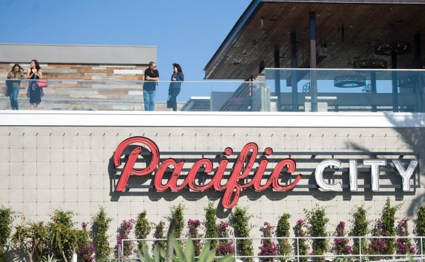 Pacific City shopping centre.