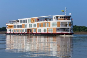 The Strand Cruise sails three and four-night itineraries between Bagan and Mandalay on Myanmar's Irrawaddy river.